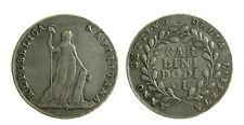 079) Napoli Repubblica Napoletana 1799  Piastra Carlini 12