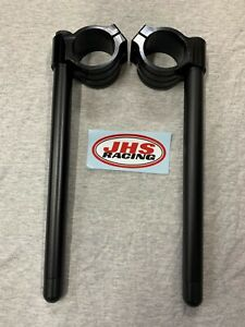 50mm Race Clip On bars     handlebars trackdays Suzuki Kawasaki Yamaha Honda BMW