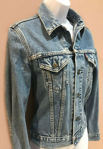 Blouson en jean vintage For girls LEVI'S,  taille 38 M, TBE