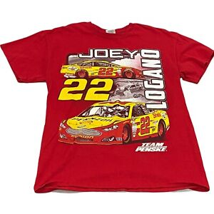 Joey Logano - Double-Sided Team Penske #22 T-Shirt (Medium) NASCAR