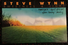 Steve Wynn Sweetness and Light 13x20 promo poster Dream Syndicate 1997 Zero Hour
