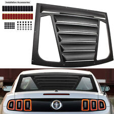 Rear Window Louver Windshield Vent Sun Shade For 2005-2014 Ford Mustang GT Coupe