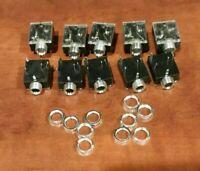 Headphone Jack 5 Pin PCB Mount Female 3.5mm Stereo Jack Socket (Qty 10)
