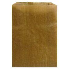 Hospeco Kl Waxed Kraft Feminine Hygiene Liner Bag with Gusset (Case of 500), .