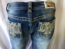 Grace Slim Bootcut Jeans With Beading Size 29/8 Long