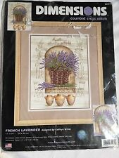 Dimensions - French Lavender Cross Stitch Kit RARE!