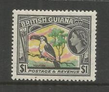 Arcade British Guiana 1954 $1 Mint Issue