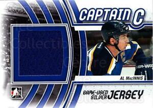 2011-12 ITG Captain C Jersey Silver #1 Al MacInnis