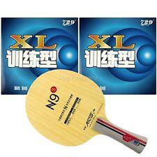 Galaxy N9s Blade Long shakehand FL with RITC729 XL Rubber for a Racket