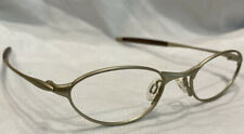 Authentic Oakley O 1 130 Platinum  48[] 19 11-600 Eyeglasses Frames Only