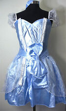 Disney Princess Cinderella Fairy Tale Deluxe Costume Halloween Adult Size Large