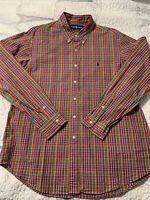 Men's Polo Ralph Lauren L/S Button Up. Custom Fit XL. Zero Defects!!