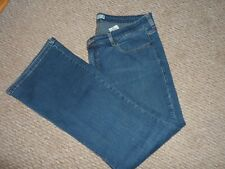 LADIES PLUS SIZE PERFECTLY SHAPING LEVIS 512 BOOT CUT JEANS SIZE UK APPROX 22-24