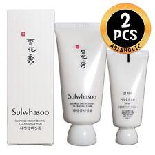 Sulwhasoo Snowise Brightening Cleansing Foam 30ml x 2pcs (60ml)Sample Newist Ver