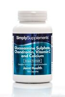 Glucosamine,Chondroitin,Vitamin C & Calcium * 360 Capsules * Healthy Joints