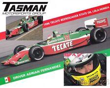 1996 Adrian Fernandez Tasman Motorsports Group Honda Lola T96/00 CART postcard