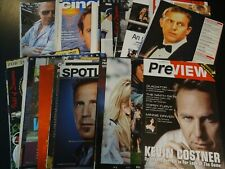 Kevin Costner  75+ full pages   Clippings