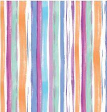 Klebefolie Streifen bunt Möbelfolie Retro Vintage selbstklebende Folie gestreift