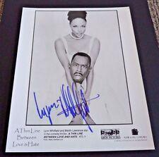 Lynn Whitfield Thin Line Autographed Signed 8x10 Promo Photo PSA Guaranteed
