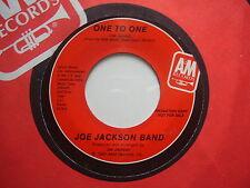 JOE JACKSON BAND: One To One (A&M) US  promo