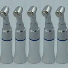 5pcs Dental SLOW Low Speed Handpiece push button E-type Contra Angle