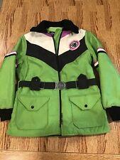 Arctic Wear Arctic Cat Snowmobile Winter Jacket Green Coat Women's Size M