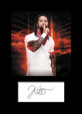 JEY USO #2 (WWE) Signed Photo A5 Mounted Print - FREE DELIVERY