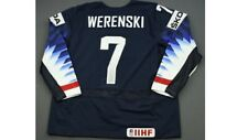 Zach Werenski Team USA Game Issued World IIHF Hockey Jersey  Nike Columbus Champ