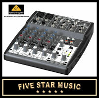 BEHRINGER 802 XENYX COMPACT MIXER 8 INPUT, 2 MICROPHONE PREAMP XENYX802 - NEW