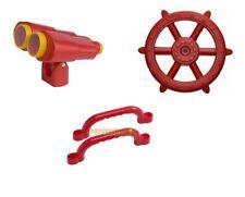 RED Playground Accessory Kit Cubbyhouse Ships Wheel Binoculars Handles pack