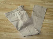 "Womens MICHAEL KORS Beige Stretch Trousers Size 2 / Waist 29"" L32.5"" VGC!!!"