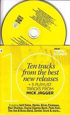 Songlines: Top Of The World #93 UK 15-track CD Mick Jagger Salif Keita Fela Kuti