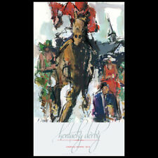 Churchill Downs 138th KENTUCKY DERBY 2012 OFFICIAL POSTER Horse Racing Action