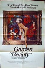 GARDEN OF BEAUTY BISEXUAL one sheet movie poster 27x41 1975 SEXPLOITATION