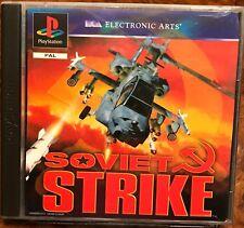 SOVIET STRIKE (SONY Playstation 1) USATO