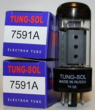 Matched Pairs Tung Sol 7591A / 7591 tubes, Brand NEW in box