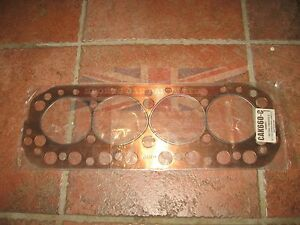 New Copper Head Gasket Made in the UK for MGA 1500 1600 1622 MGB 1800 1963-1980