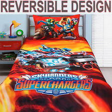 Skylanders Supercharged Duvet | Doona Quilt Cover Set | Single