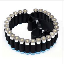"55"" 29Round Shotgun Shell Ammo Belt Nylon Sling Bandolier Hunting for .410 12"