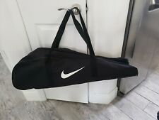 Nike Baseball Softball Equipment Bat Carrying Storage Bag Black big swoosh