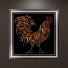 5D Diamond Painting DIY Embroidery Cock Animals Cross Crafts Stitch Kit Decors