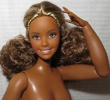 (C) NUDE BARBIE C~NIGHTTIME GLAMOUR AA COLLECTOR CURVY ARTICULATED DOLL FOR OOAK