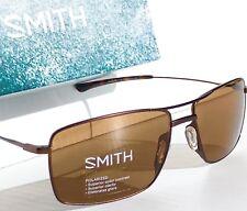 NEW* SMITH OPTICS TURNER Aviator Brown ChromaPop POLARIZED Bronze Lens Sunglass