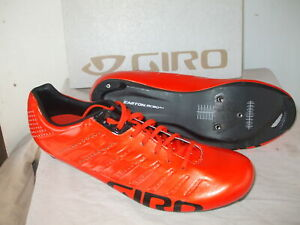 NEW - Giro Empire SLX Carbon Shoes, Glowing Red, EU 47