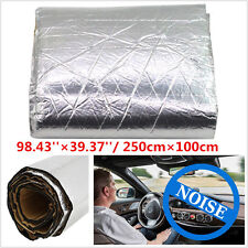 250cm×100cm Firewall Sound Deadener Car SUV Heat Shield Insulation Deadening Mat