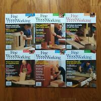 Fine Woodworking Magazine Lot 2011 Complete Year (6) Chest Dovetail Table Shaker