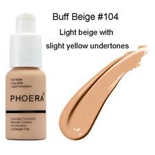 PHOERA Makeup Matte Full Coverage Oil-control Concealer Cream Liquid Foundation