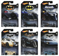 Batman Set 6 Modellautos Batmobile 2018 Dark Knight 1:64 Hot Wheels FKF36