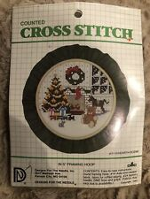 Designs for the Needle-Hearth Scene-Counted Cross Stitch Kit #3110 Vintage 1984