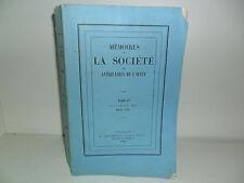 Mémoires Société Antiquaires de l'Ouest 1880 Abbaye de Sainte-Croix de Poitiers